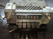 Original Used 65 66 Ford Mustang Am Radio For Parts Or Restore Untested