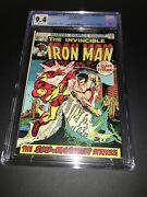 Cgc 9.4 Iron Man 54 1st Appearance Of Moondragon As Madame Macevil White Pages