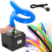 Single Nozzle Electric Balloon Pump Inflator Air Blower For 160/260 And 5 Balloon