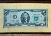 1976 2 Two Dollar Bill Uncirculated Certified Us Currency First Day Of Issue