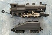 American Flyer 21004 B-6sb Prr 0-6-0 Steam Switcher Loco And Tender Serviced