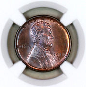 1911-s Ms65 Bn Ngc Lincoln Wheat Penny Registry Quality Collection