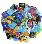 100 Condoms Sampler Pack Lifestyles Crown One Trustex And More Condoms