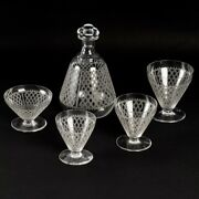 Baccarat Cristal Crystal 57 Pces Glasses Decanter Champagne Water Wine