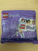 Lego Friends Puppy Dog Key Chain 6031636 Polybag New Sticker Butterfly Note Pad