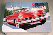Amt 1953 Studebaker Starliner Usps Collectible Tin 125 Scale Model Car Kit 1251