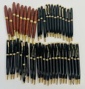 Lot Of 45 Vintage Delta Ball Point Pens From Ibm Office Building - Untested