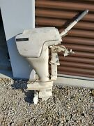 Vintage Sears Ted Williams 9 Hp Outboard Motor