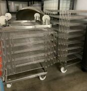 6 Stainless Steel Base On Wheels For Cheese Aging Racks