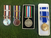 Canadian South West Asia Service Medal Gulf And Kuwait Medal Peacekeeper Medal
