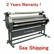 63 Entry Level Full Auto Wide Format Heat Assisted Cold/warm Laminator Machine