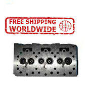 New Engine Cylinder Head Bare With Guide For Kubota D850/950 [3 Cyl] 15532-03040