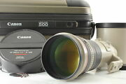 [mint W/ Trunk Hood] Canon Ef 500mm F4 L Is Usm Telephoto Af Lens From Japan