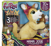 Furreal Mama Josie The Kangaroo Interactive Pet Toy Loveable For Ages 4+ New