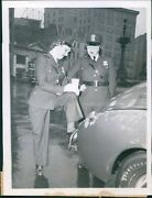 1943 Ann Bennett Artie Stockdale Indianapolis In Police Officers Laws Photo 6x8