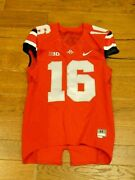 Jt Barrett Ohio State Football Game Jersey Size 44 Directly From Ohio State