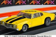 New Afx And03971 Chevy Chevelle 454 Mega G+ Fits Auto World Ho Slot Car Afx 22050