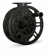 New Tibor Riptide Frost Black 9-11 Weight Fly Fishing Reel Free 80 Line