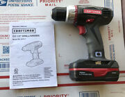Craftsman Compact Drill / Driver 19.2v C3 5275.1 With Battery New