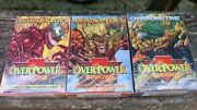 Over Power Card Game Sealed Packs Lot Trading Cards Playing Cards