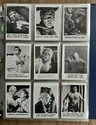 1961 Leaf Spook Stories Series 1 And 2 144 Card Set With Extras - Plus Stickers