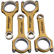 New H-beam Connecting Rods+arp2000 Bolts For Mini Cooper S Ep6cdts Ep6dts Thp175
