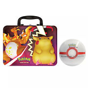 New - Pokemon Tcg Fall 2020 Collectors Chest Tin Lunchbox And Premier Ball