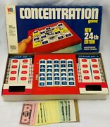 1984 Concentration Game 24th Edition By Milton Bradley Complete Very Good Cond