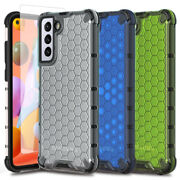 For Samsung Galaxy A11 Case Phone Slim Cover+tempered Glass Screen Protector