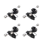 4pcs Trolling Clip Line Release Outrigger Release Downrigger Kite Power Grip