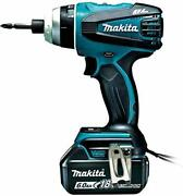 Makita 4 Mode Impact Driver Tp141 18v Blue Torque 150nm 6ah Battery With A Two