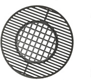 Round Cast Iron Cooking Grate For Weber 8835 22.5 Charcoal Bar-b-kettle Grills