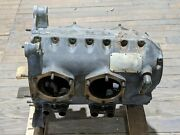 Continental A65 6651 Aircraft Engine Crankcase 6652 Aviation Used For Parts Only