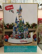 Disney Animated Castle With Lights And Music - Christmas