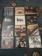 The Beatles Cd Lot Let It Be Sgt. Peppers Abbey Road Rubber Soul Magical Mystery