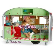American Girl Maryellenand039s Airstream Travel Trailer Camper Mary Ellen New