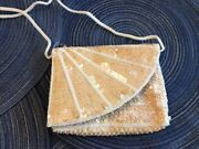 Vintage Embellished Evening Bags- Seed Pearls/bugle Beads- Set Of 2- Charming