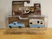 Greenlight Hitch Tow 1963 Dodge D-100 Ser.6 Green Machine Chase 0028