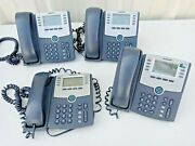 Cisco Spa508g 8-line Ip Phone With 2-port Switch Poe And Lcd Display Lof Of 4