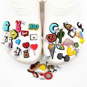 Pvc Shoe Charms Forcrocs 31 Kinds Of Fitness Medical Food Cute Animals Buckles