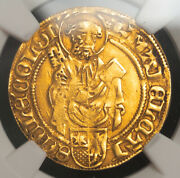 1480 Cologne Archbishopric Hermann Iv Of Hesse. Gold Gulden Coin. Ngc Xf-45