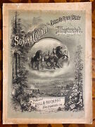 Bell / California Lithographs 1888 Sonoma County And Russian River Valley 1st Ed