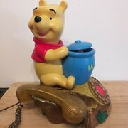 Mybelle Disney 805 Winnie The Pooh Corded Telephone With Piglet In A Pot