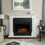 Real Flame Electric Fireplace Callaway Grand Infrared X-lg Firebox White