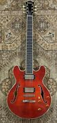 2021 Eastman T184mx Thinline Electric W/ Case And Pro Setup 1093