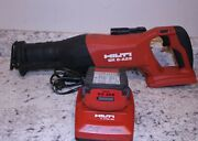 Hilti Brushless Reciprocating Saw Sr 6-a22 Pre-owned