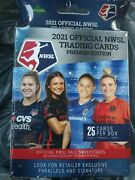 2021 Official Nwsl Womens Soccer Cards Premier Edition Hanger Box Qty