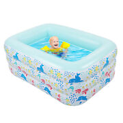 Inflatable Swimming Pools Kids Family Outdoor Above Ground Paddling Pool Swim Us