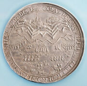 1672 Dutch Republic. Silver Siege Of Groningen And Coevorden Medal. Ngc Ms-64