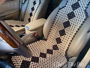 Car Seat Cover Wooden Massager Set Of 2 Bead Handmade Seat Car Covers Gift